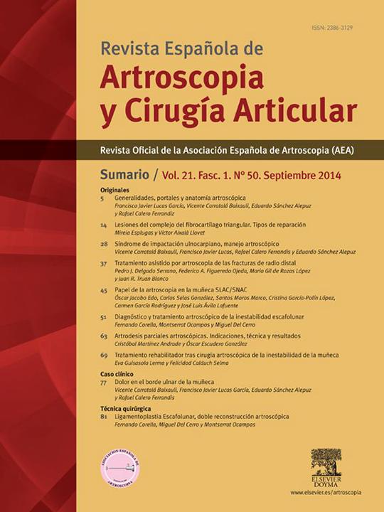 Portada REACA Vol. 21. Fasc. 1. Núm. 50. Septiembre 2014