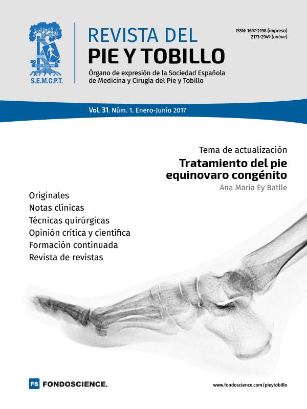 Portada RPT Vol. 31. Núm. 1. Enero-Junio 2017